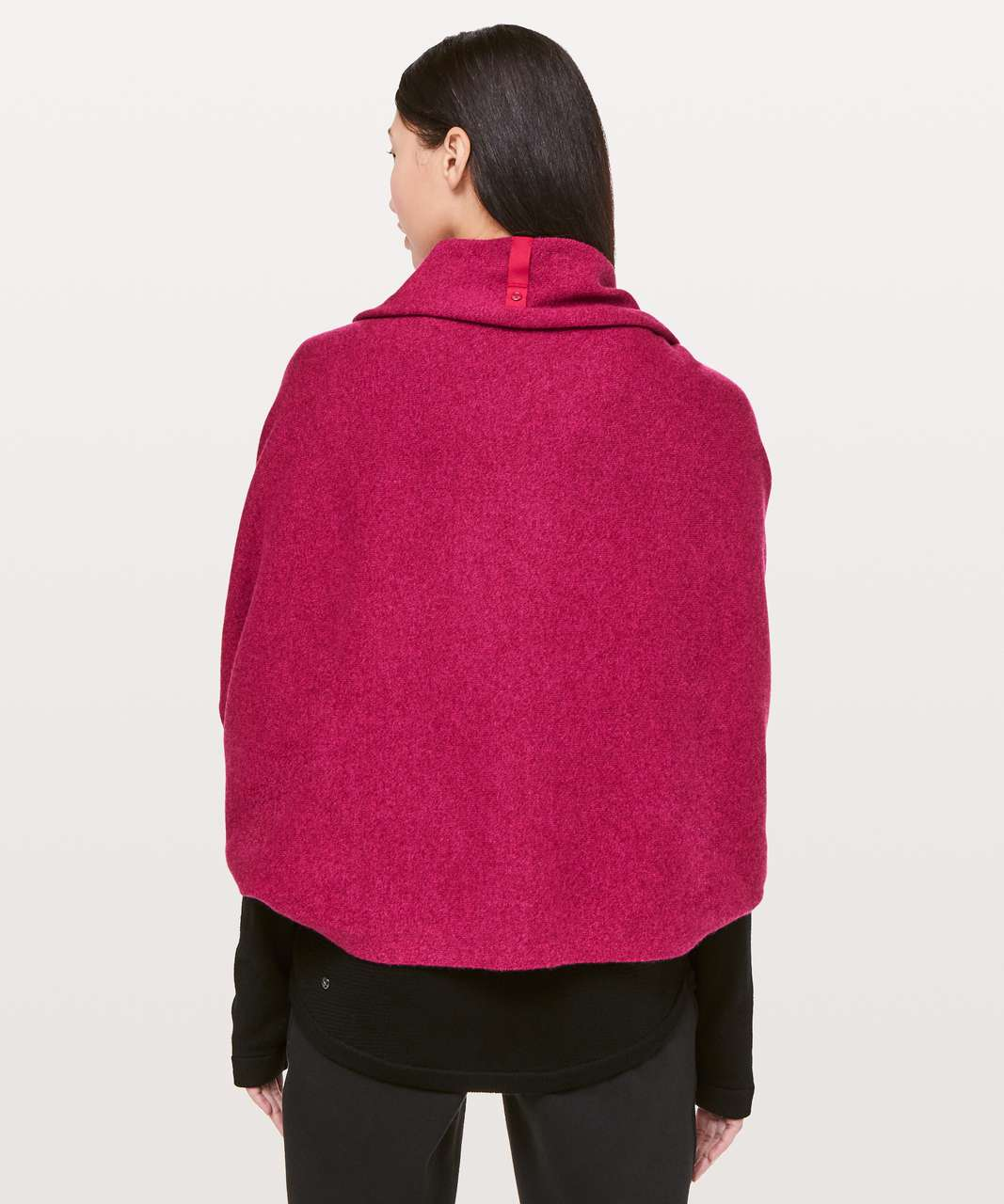 Lululemon Vinyasa Scarf *Cashmere - Heathered Dark Red
