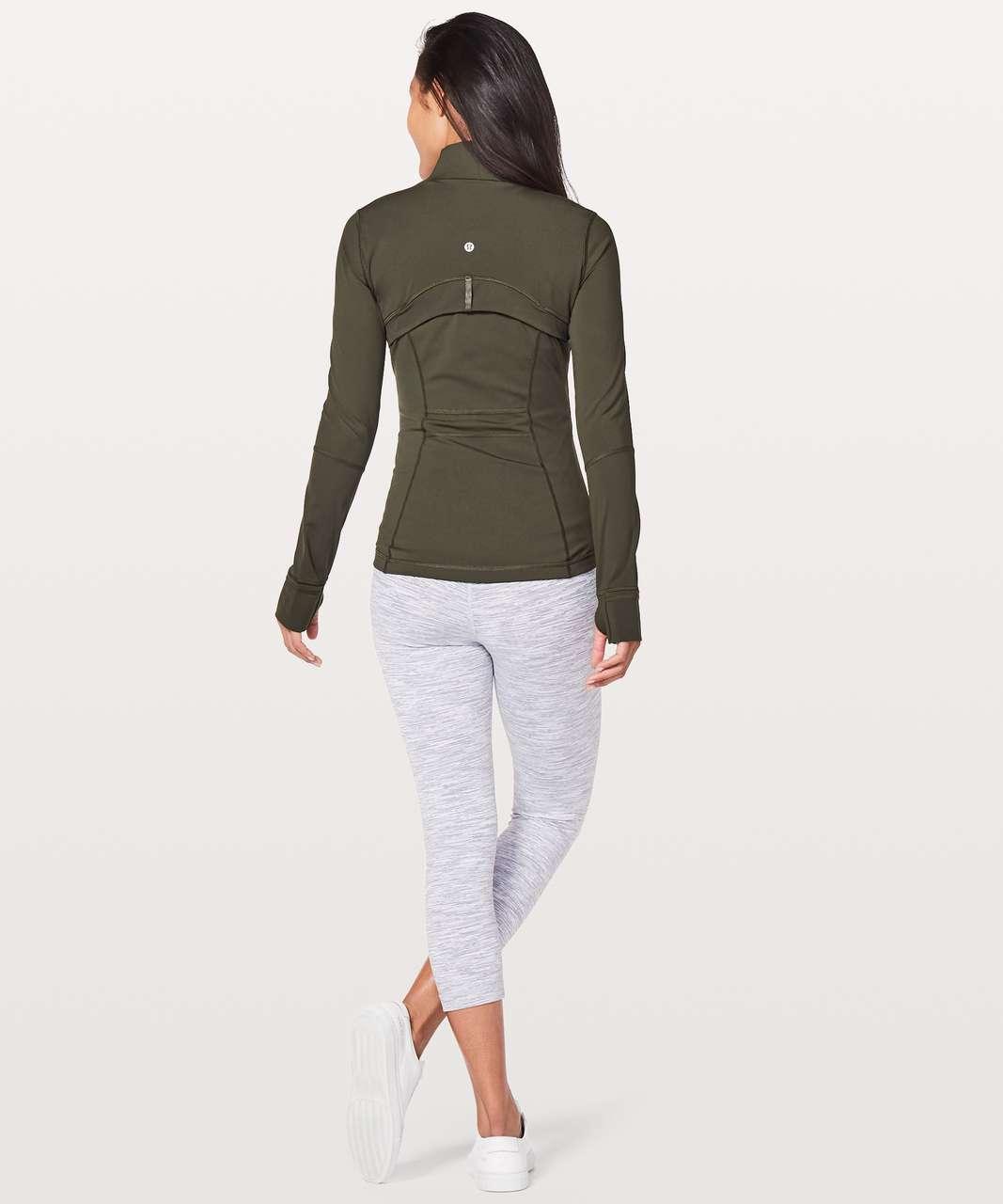 Lululemon Define Jacket *Nulux - Dark Olive