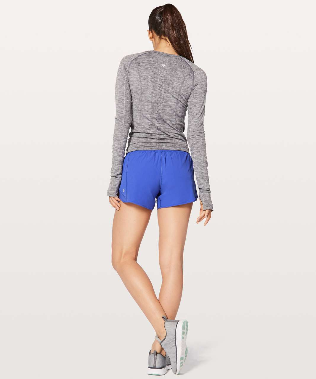 "Lululemon Hotty Hot Short II *Long 4"" - Blazer Blue"