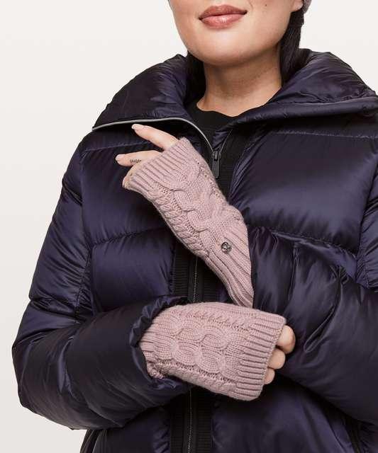 a17cb0e1adaac Lululemon Twisted Bliss Fingerless Gloves - Black   Angel Wing ...