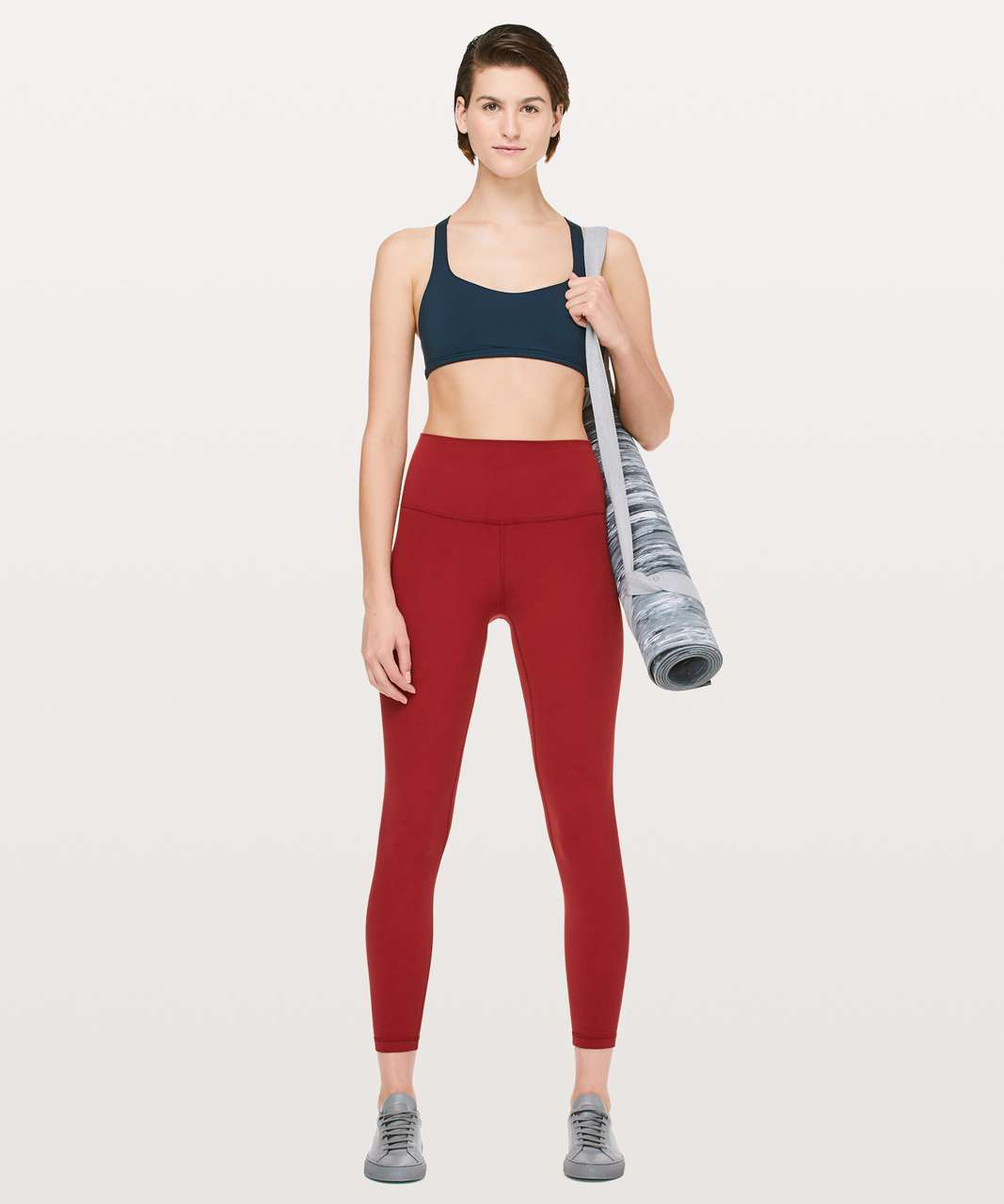 "Lululemon Align Pant II *25"" - Dark Sport Red"