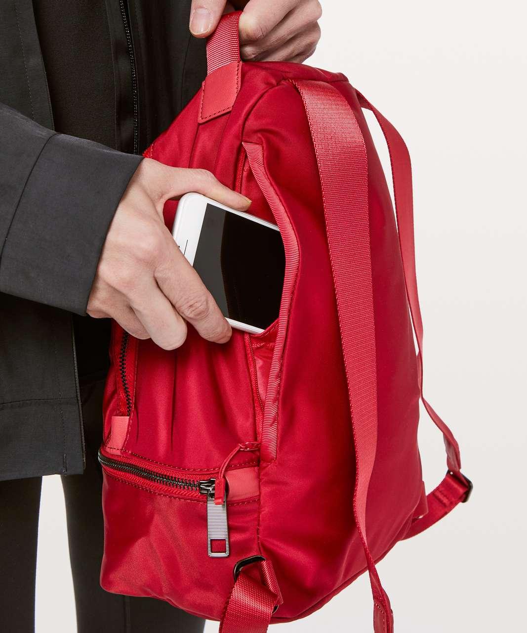 Lululemon City Adventurer Backpack Mini II *10L - Dark Red
