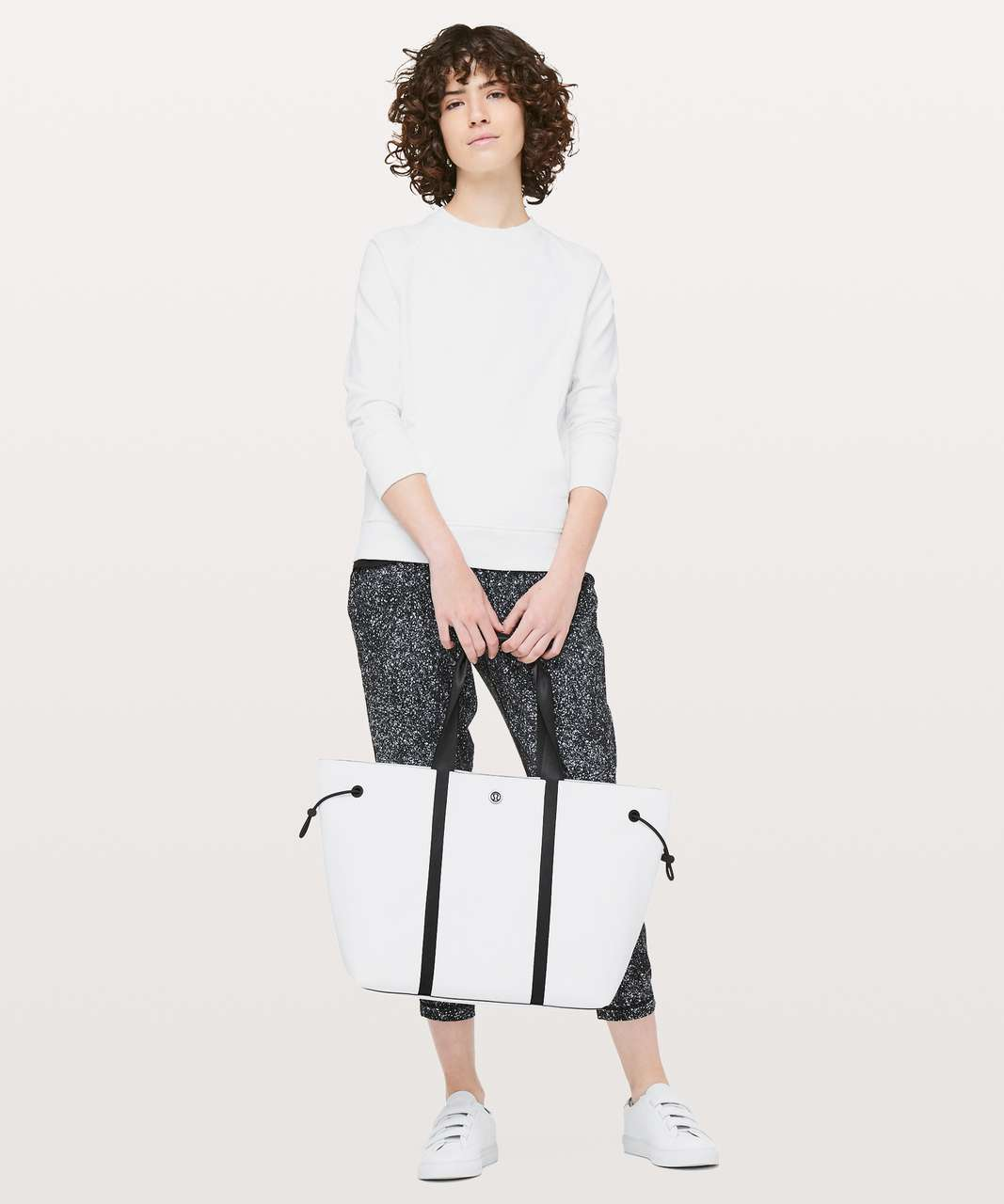 Lululemon Day Out Tote *16L - White / Black