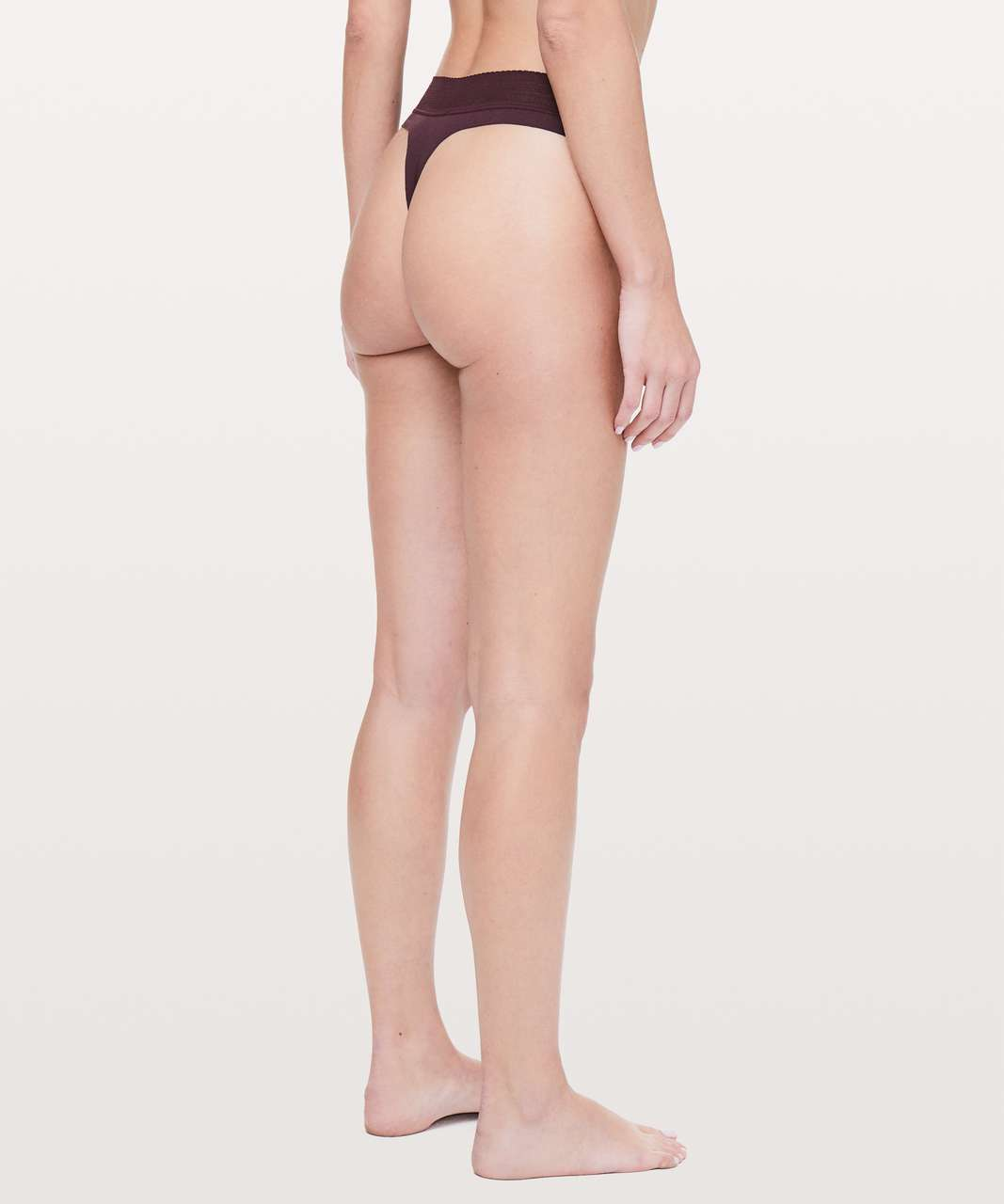 Lululemon Ever Essentials Thong - Dark Adobe