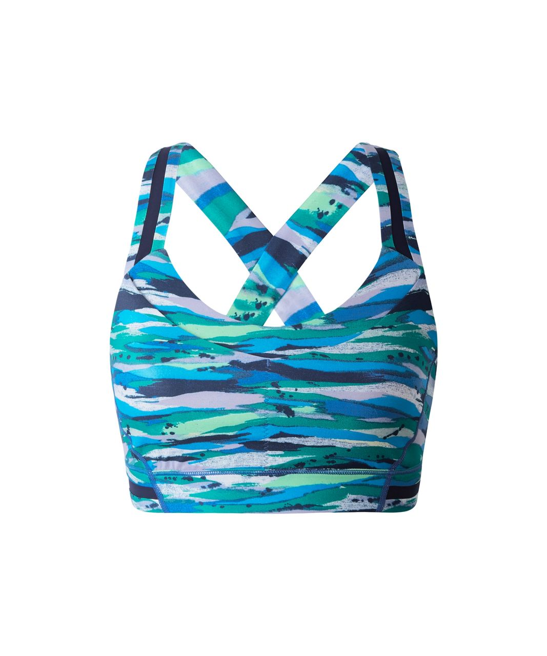 Lululemon Rack Pack Bra - Seven Wonders Multi