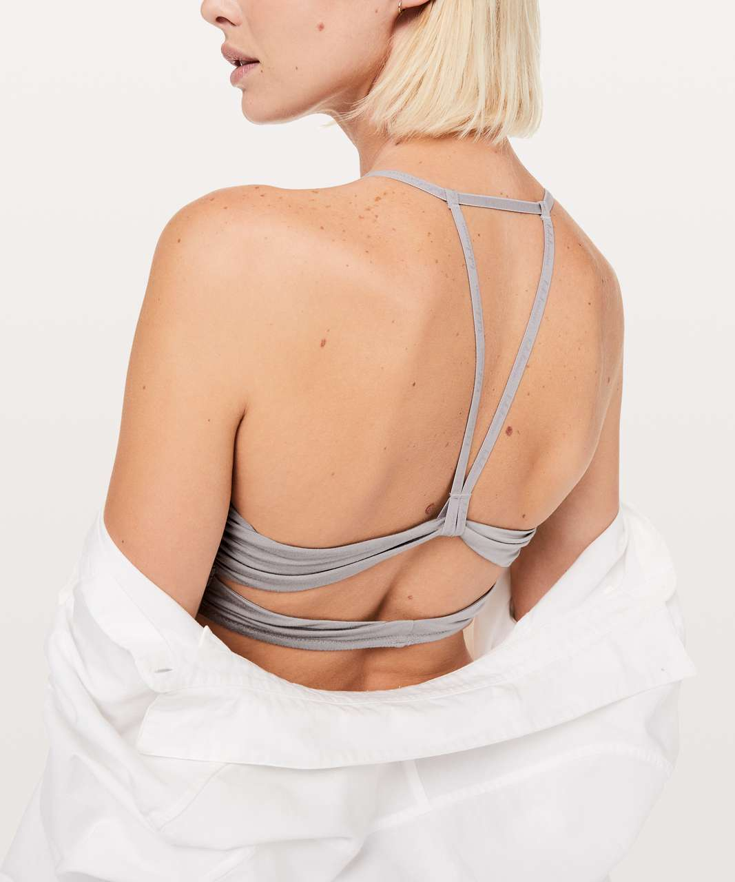 Lululemon Simply There Bralette - Dark Chrome