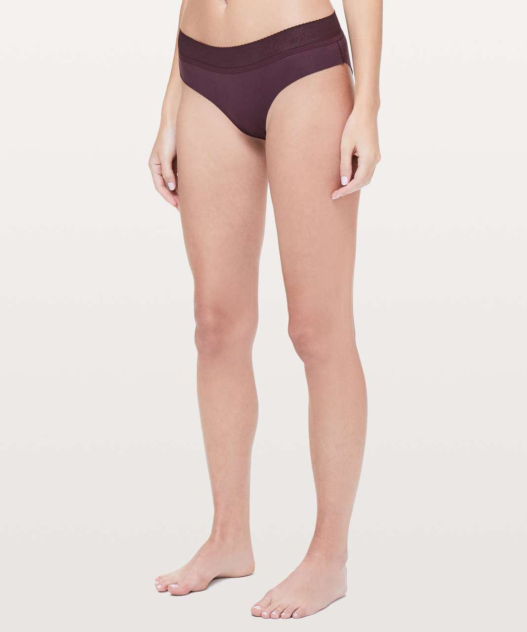 Lululemon Ever Essentials Bikini - Dark Adobe