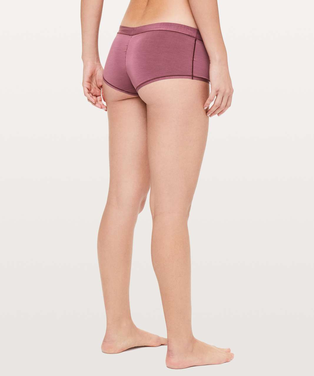 2f7192019 Lululemon Simply There Boyshort - Misty Merlot - lulu fanatics