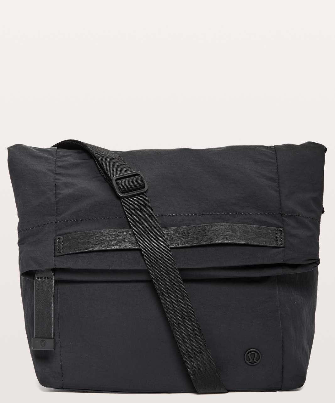 1578a82862b Lululemon On My Level Crossbody Bag *6L - Black - lulu fanatics