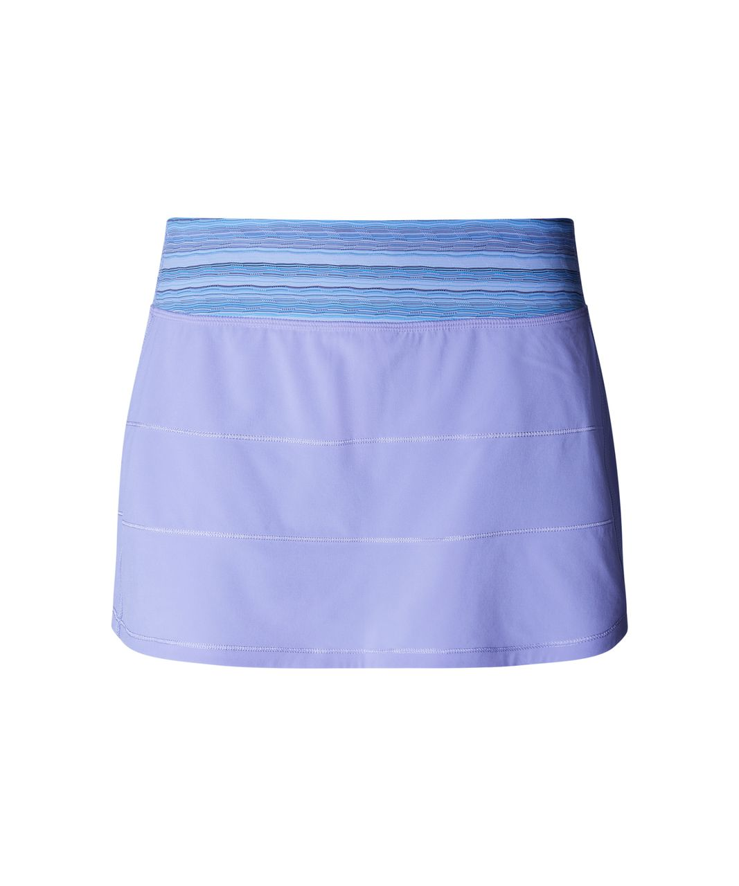 Lululemon Pace Rival Skirt II (Regular) - Lilac / Wave Twist Lilac Caspian Blue