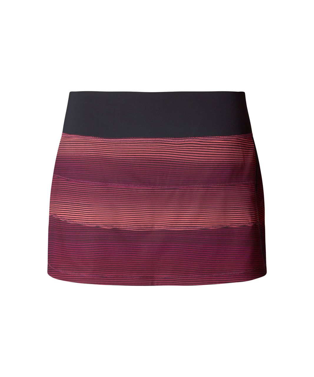 Lululemon Pace Rival Skirt II (Regular) - Simply Radiant Pink Paradise Black / Black
