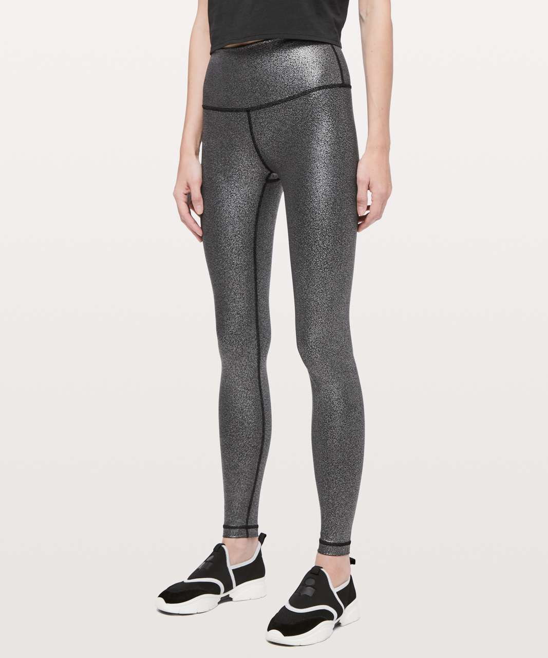 c7088b0e56 Lululemon Wunder Under High-Rise Tight *Foil 28