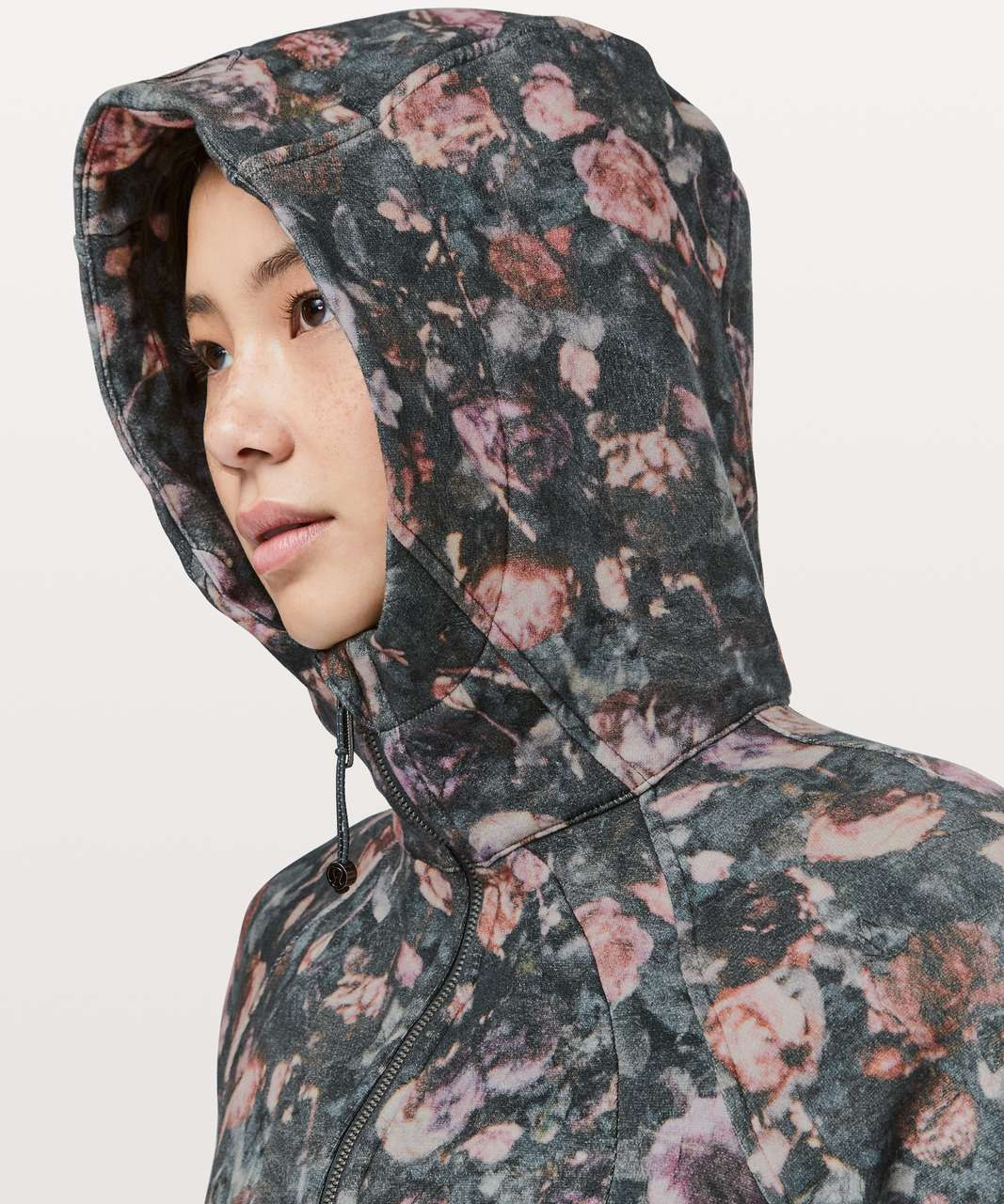 Lululemon Scuba Hoodie *Light Cotton Fleece - Frosted Rose Multi