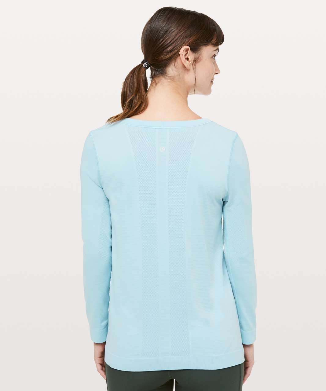 Lululemon Swiftly Tech Long Sleeve (Breeze) *Relaxed Fit - Blue Haze / Blue Haze