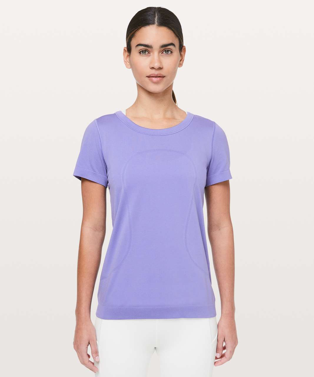 Lululemon Swiftly Tech Short Sleeve (Breeze) *Relaxed Fit - Solar Purple / Solar Purple
