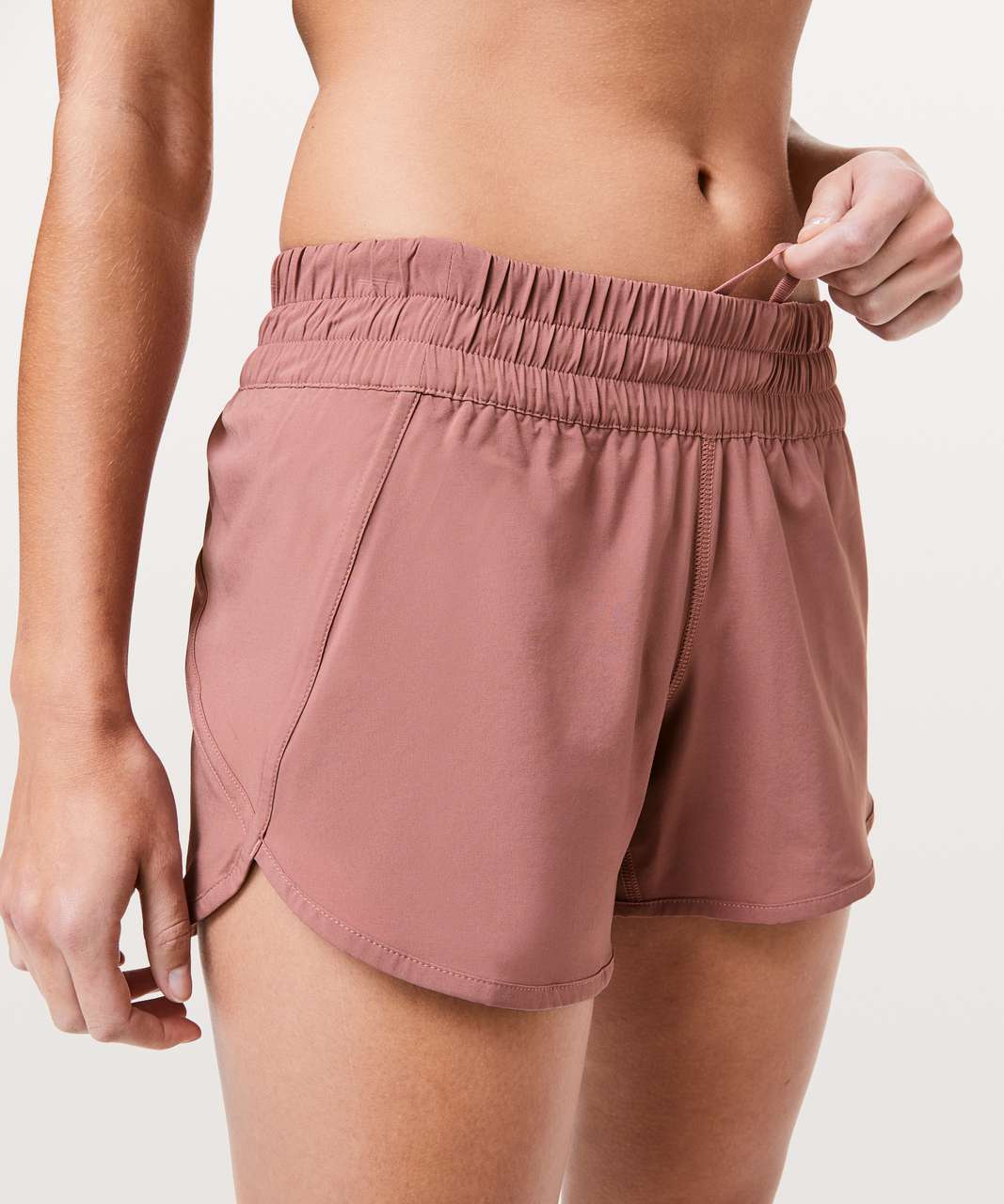"Lululemon Tracker Short V *4"" - Spanish Rose"