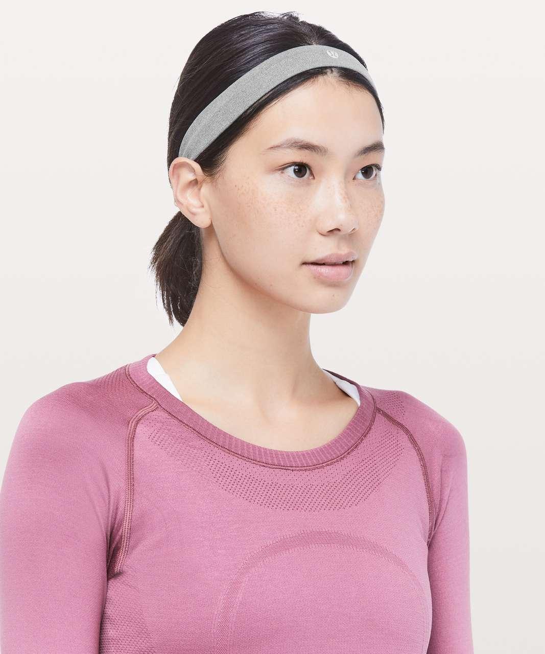 Lululemon Cardio Cross Trainer Headband - Slate / White