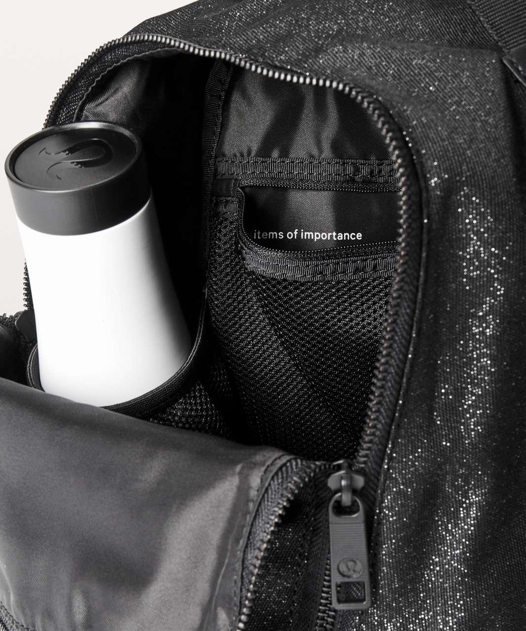Lululemon City Adventurer Backpack Mini II *10L - Black / Metallic Silver