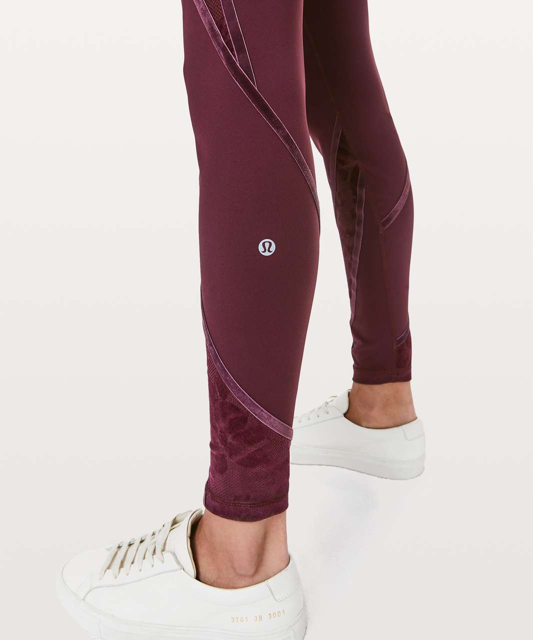 "Lululemon Wunder Under High-Rise Tight* Flocked 28"" - Dark Adobe / Scatter Floral Dark Adobe Dark Adobe"