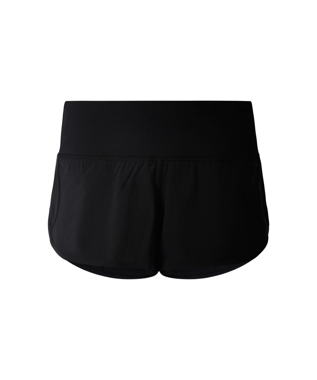 "Lululemon Run: Speed Short *Block-It Pocket 2.5"" - Black"