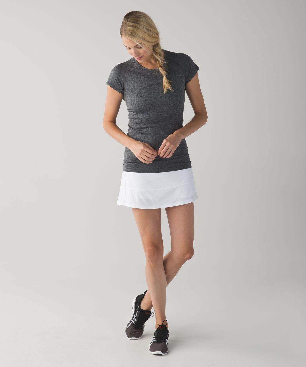 Lululemon Pace Rival Skirt II (Tall) - White