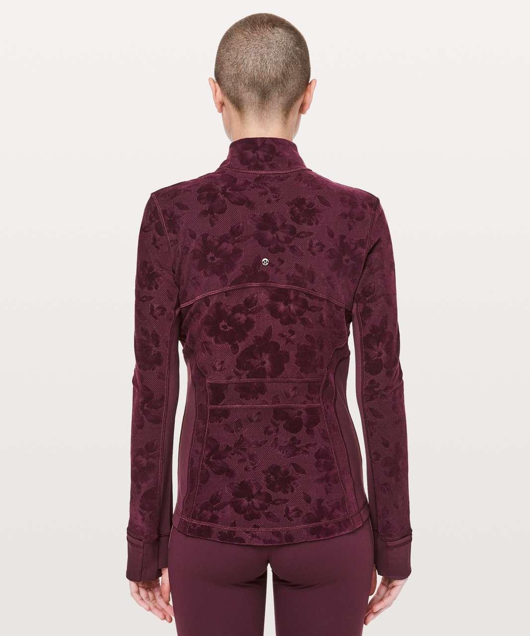 Lululemon Define Jacket Flocked - Dark Adobe