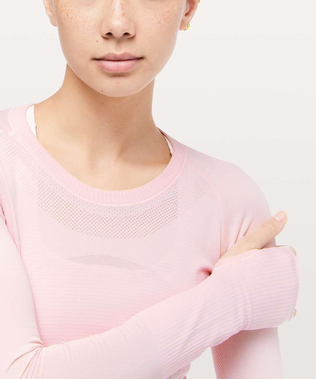 Lululemon Swiftly Tech Long Sleeve Crew - Blissful Pink / Blissful Pink