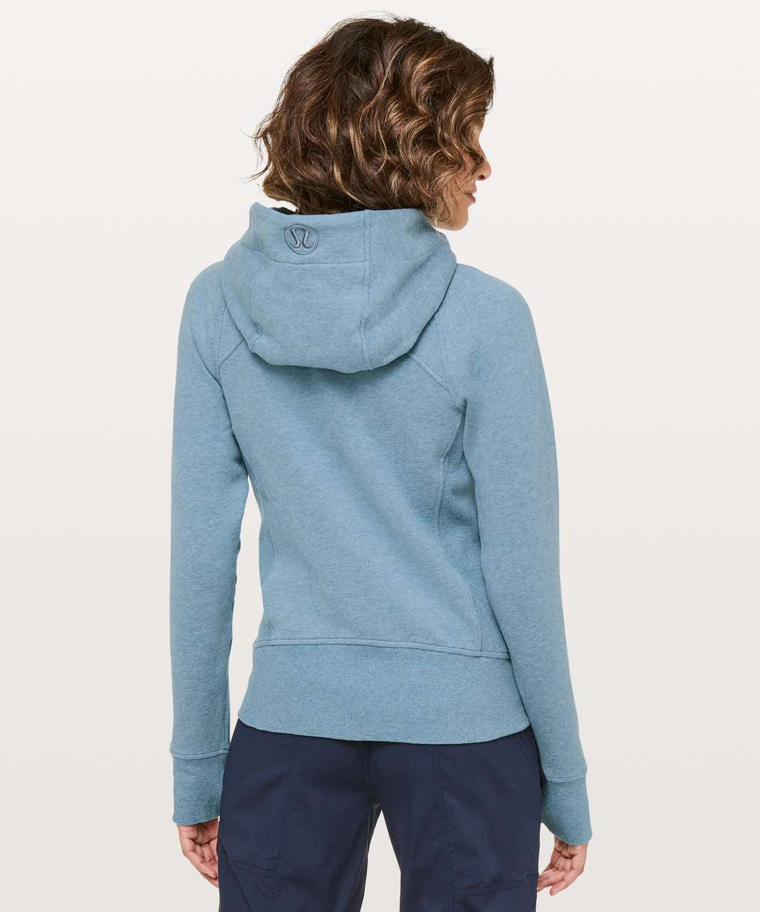 Lululemon Scuba Hoodie *Light Cotton Fleece - Heathered Illuminight