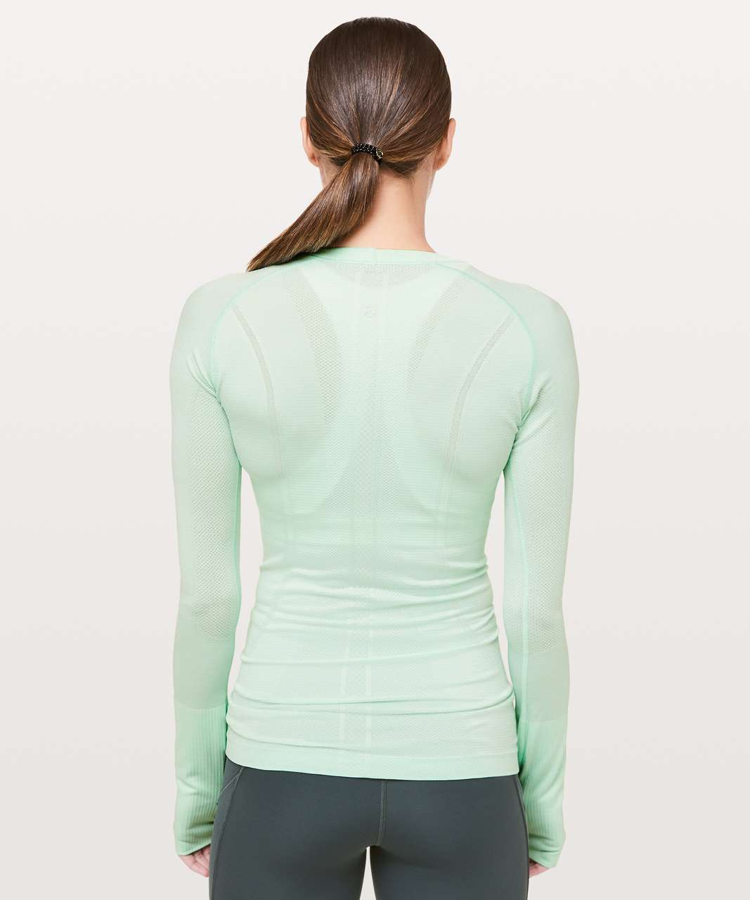 Lululemon Swiftly Tech Long Sleeve Crew - Misty Mint / Misty Mint