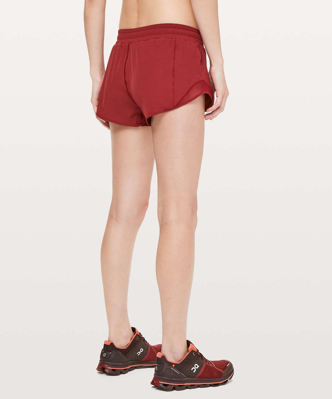 "Lululemon Hotty Hot Short II *2.5"" - Dark Sport Red"