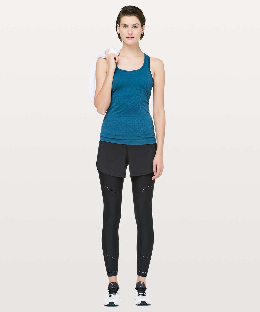 Lululemon Swiftly Tech Racerback - Carbon Blue / Carbon Blue