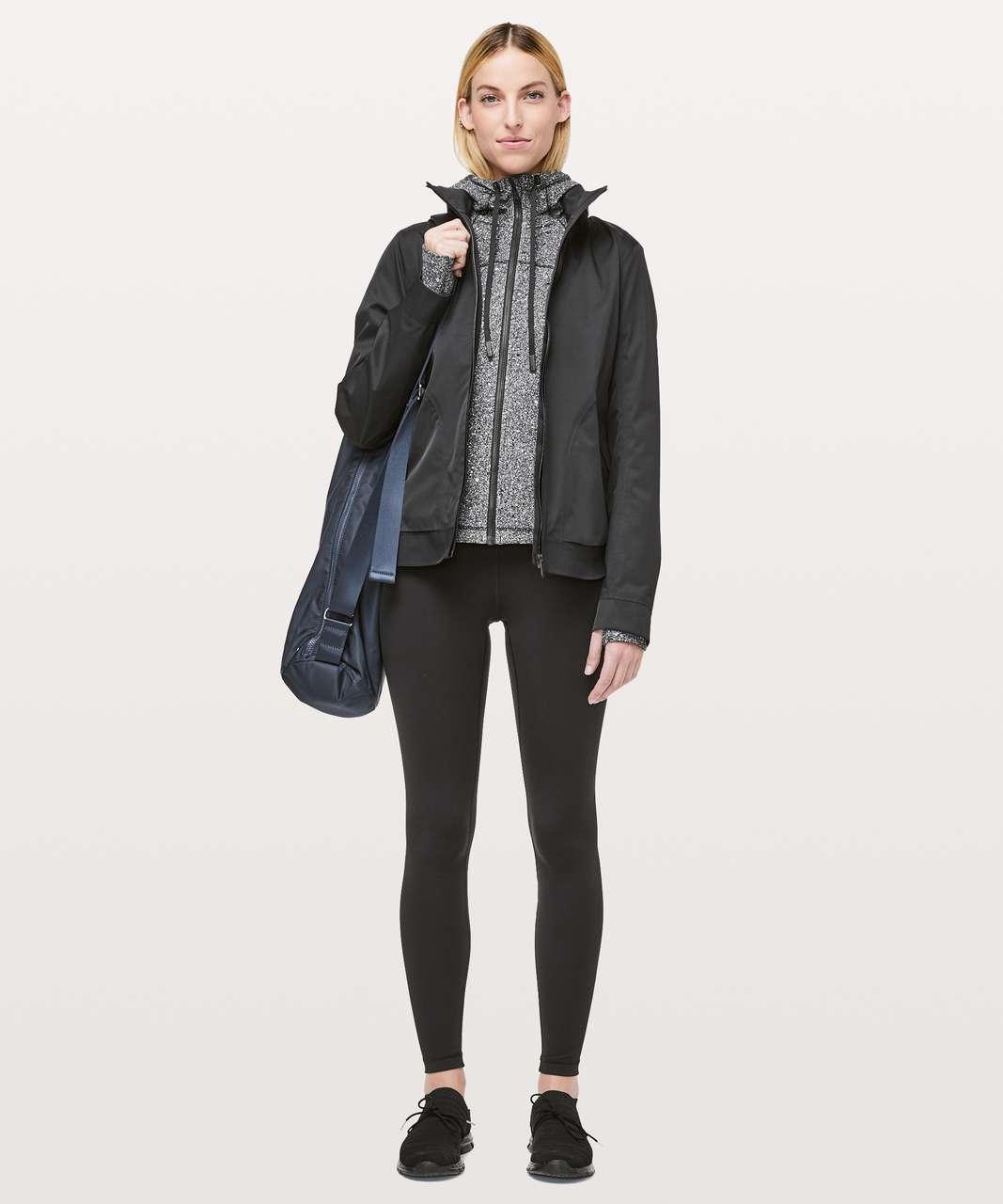 Lululemon Hooded Define Jacket *Nulu - Luminesce Splatter White Black (First Release)