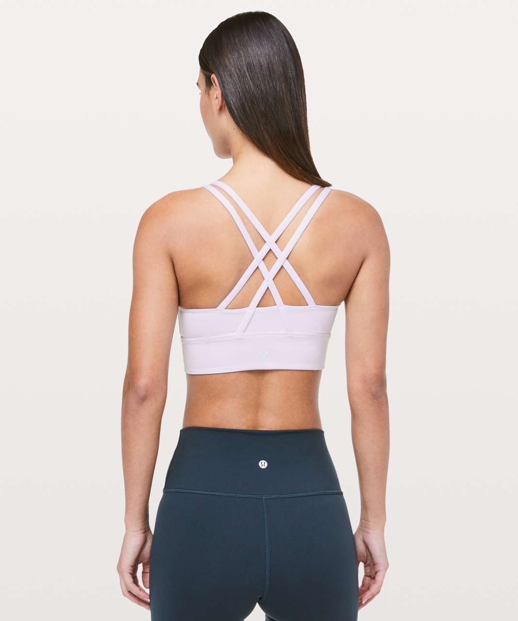 Lululemon Energy Bra *Long Line - Sheer Lilac