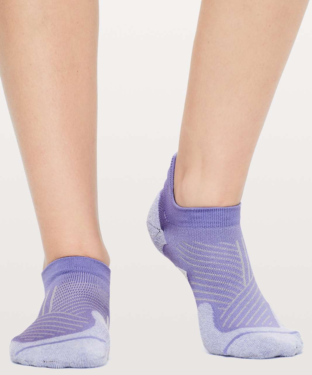Lululemon Speed Sock *Silver - Solar Purple / Silver Lilac