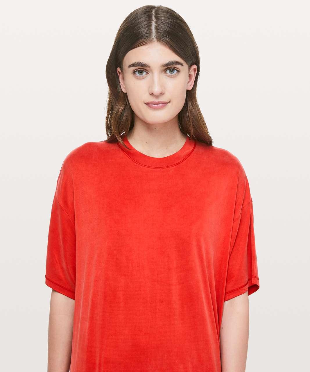 Lululemon Sumu-Su Dress - Fiery Red