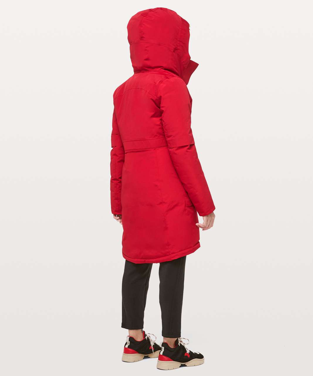 Lululemon Winter Warrior Parka - Dark Red