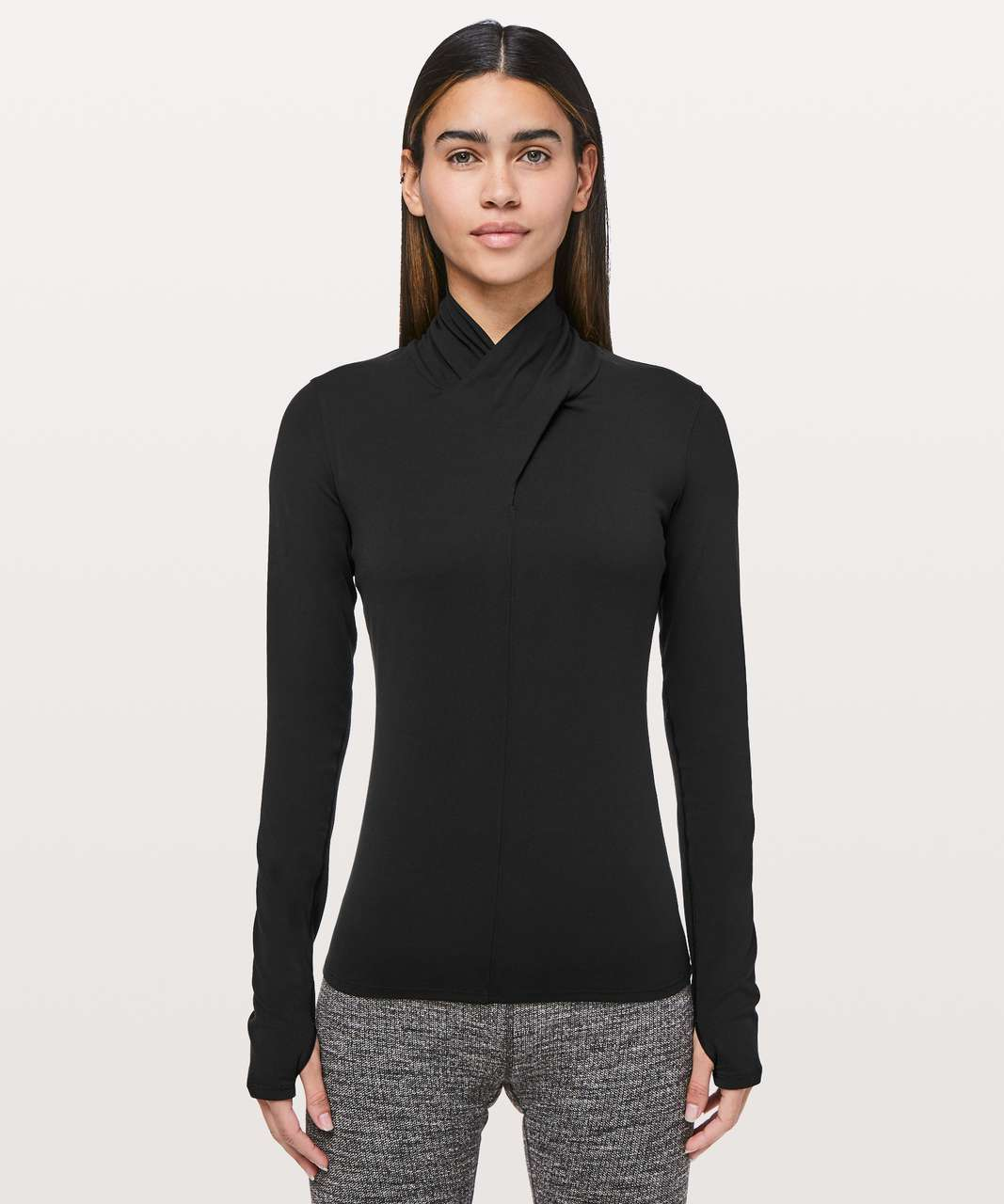 Lululemon Ethereal Long Sleeve - Black