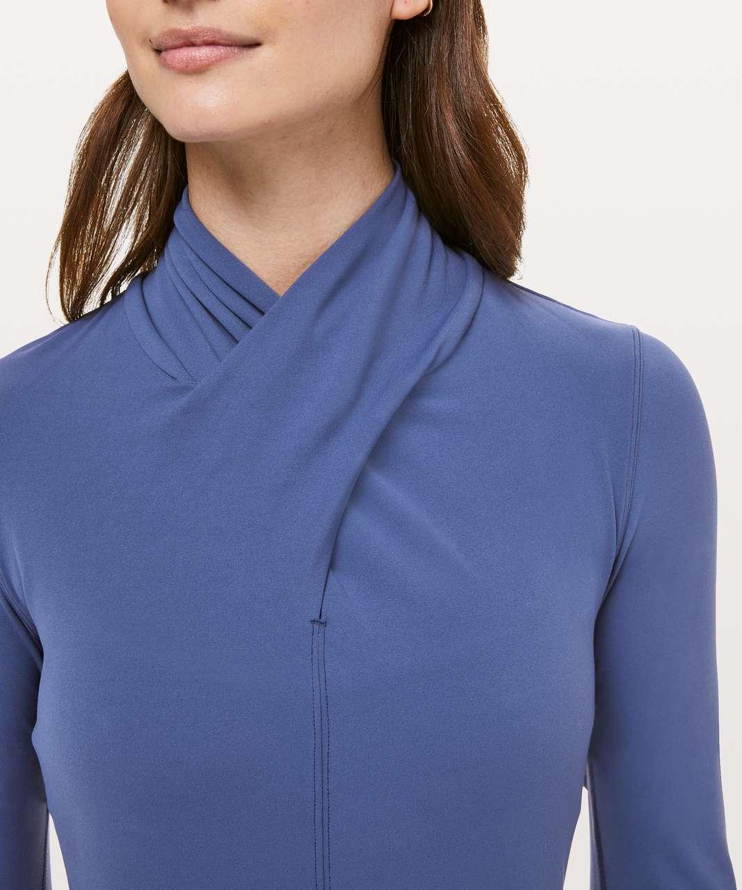 Lululemon Ethereal Long Sleeve - Gatsby Blue