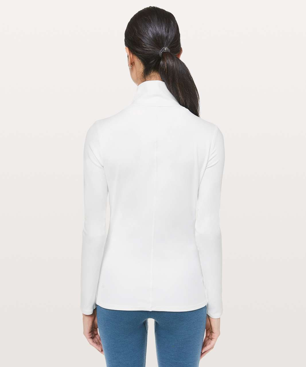 Lululemon Ethereal Mock Neck - White