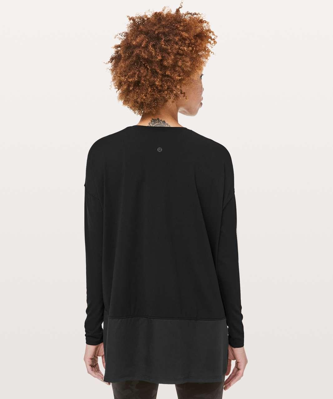 Lululemon Ease of Mind Long Sleeve - Black