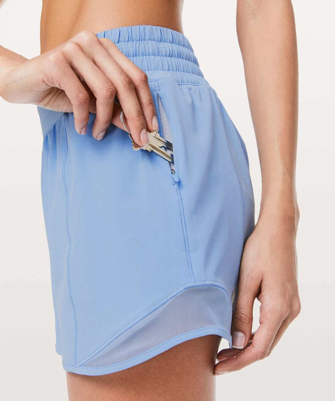 "Lululemon Hotty Hot Short *High-Rise Long 4"" - Sinatra Blue"