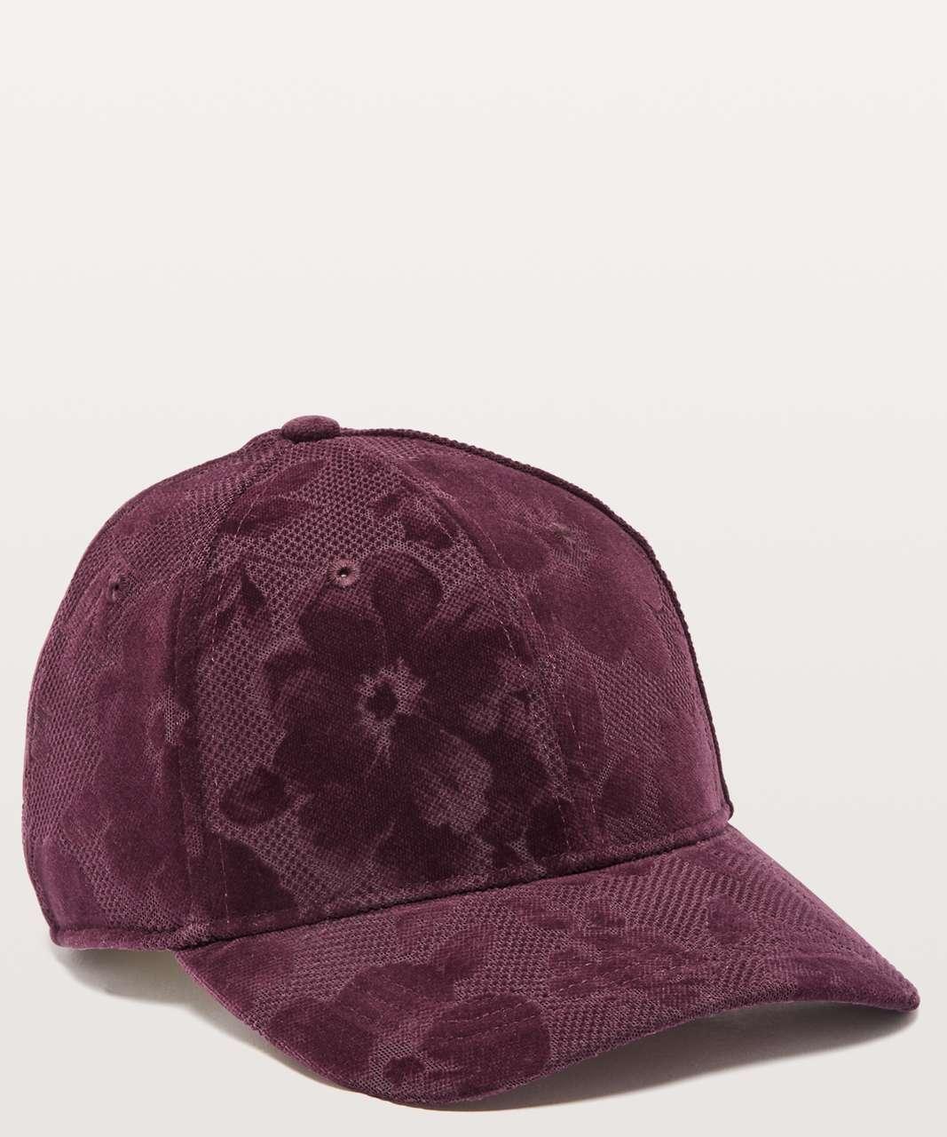 Lululemon Baller Hat *Flocked - Dark Adobe / Black Reflective