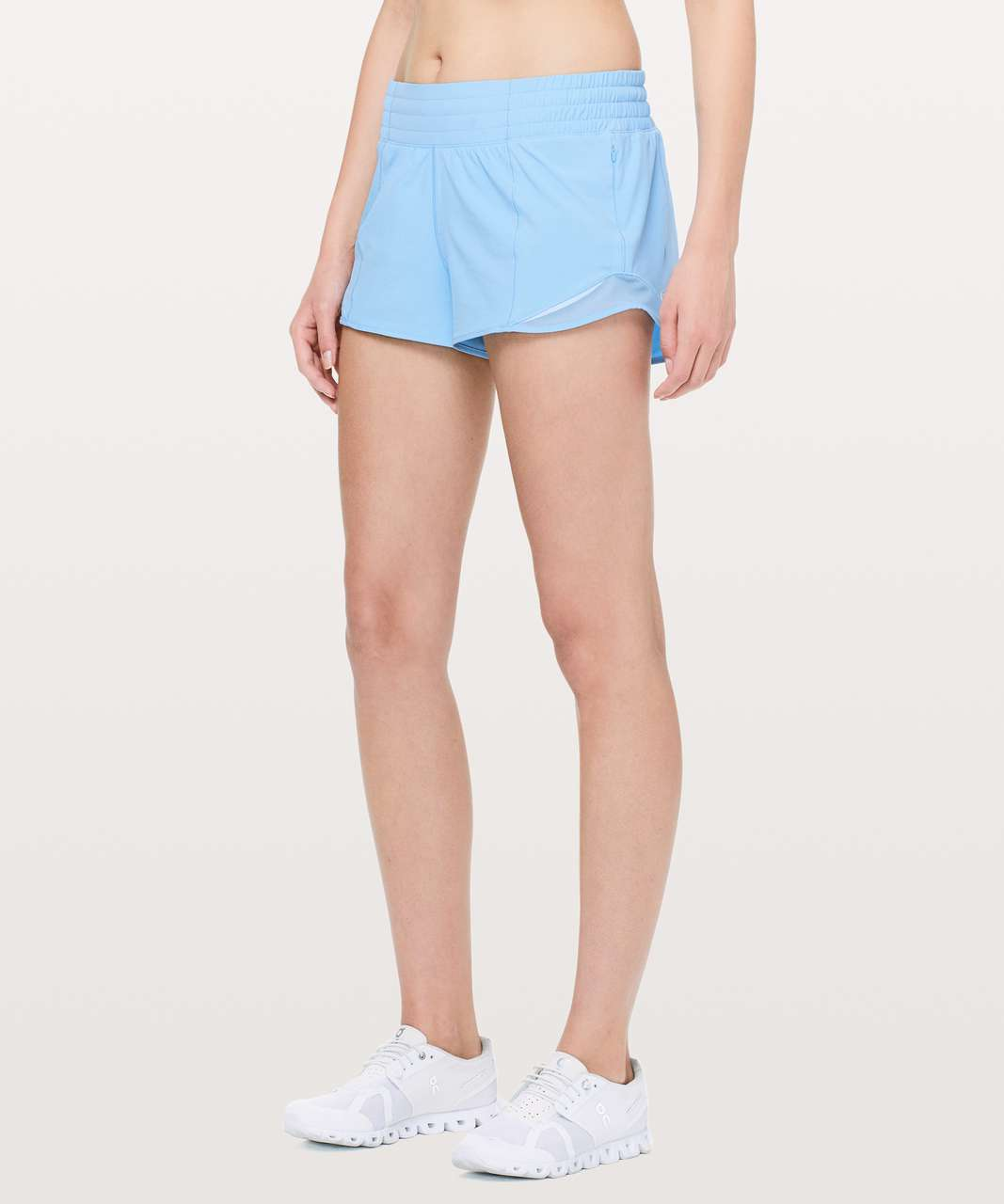 "Lululemon Hotty Hot Short *High-Rise 2.5"" - Sinatra Blue"