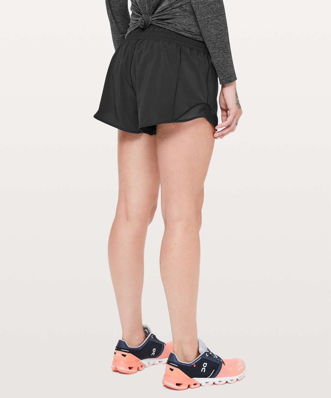 "Lululemon Hotty Hot Short *High-Rise 2.5"" - Black (First Release)"