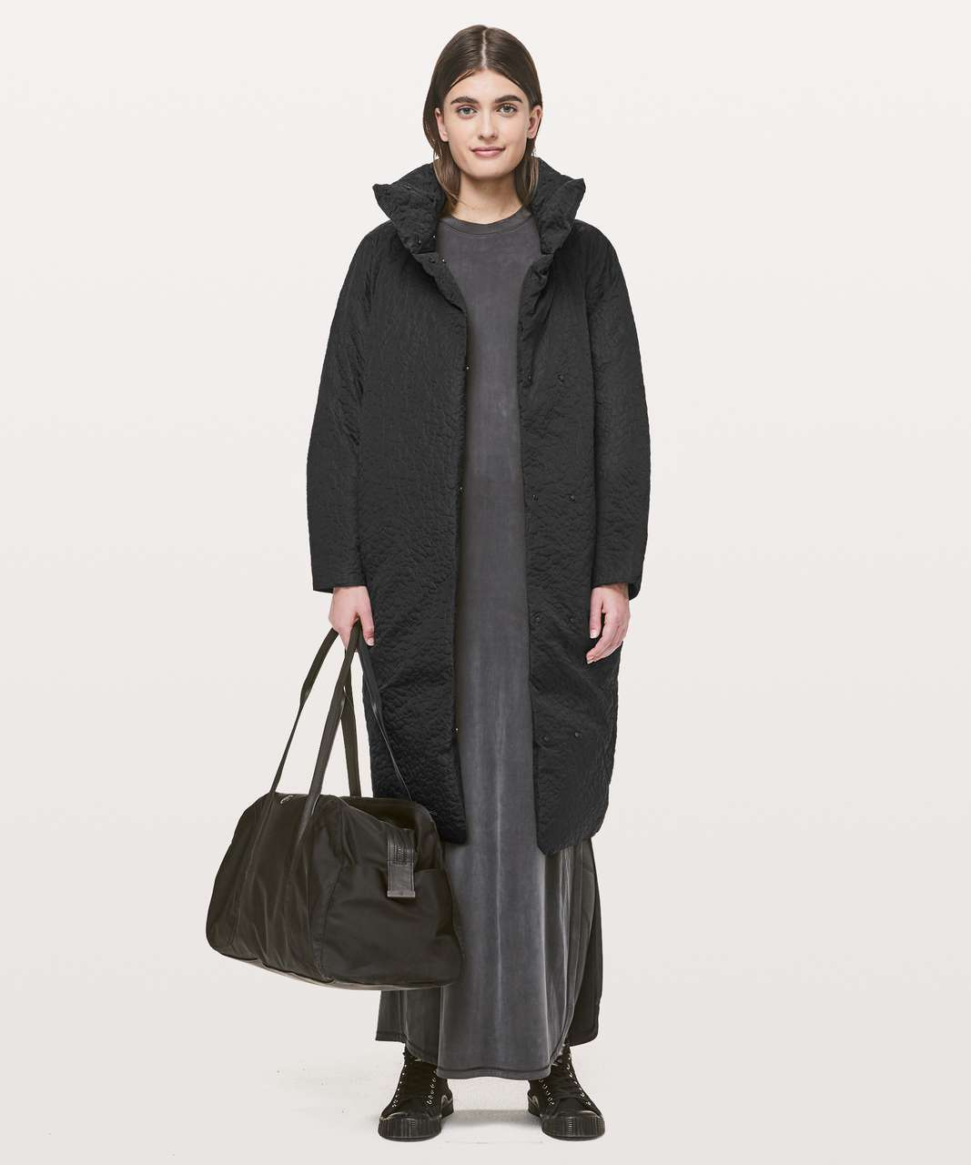 Lululemon Shiwa Long Puff - Black