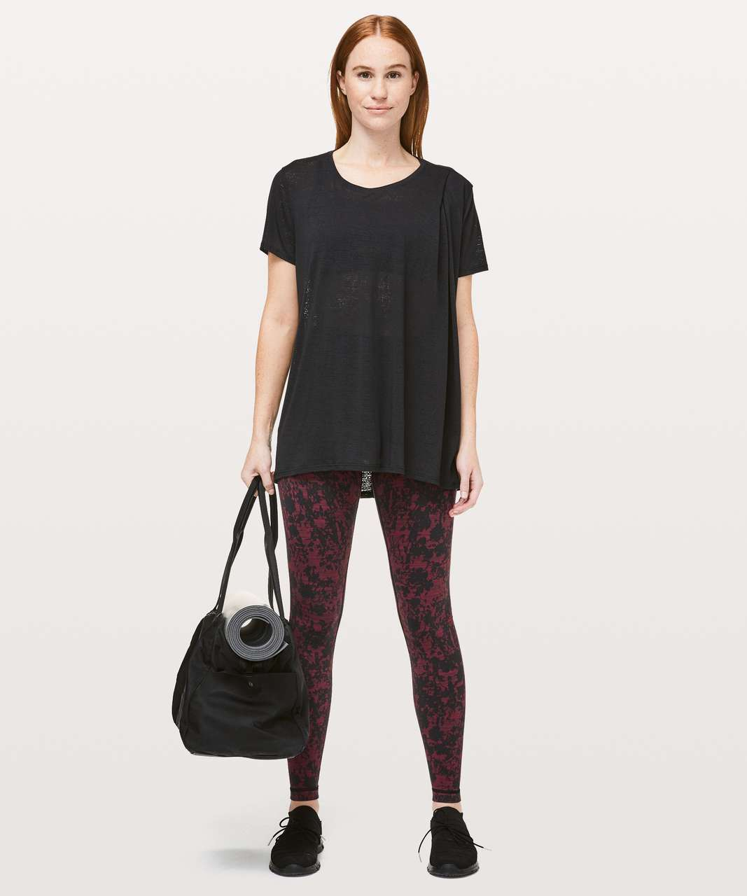 Lululemon Back To Me Tee - Black