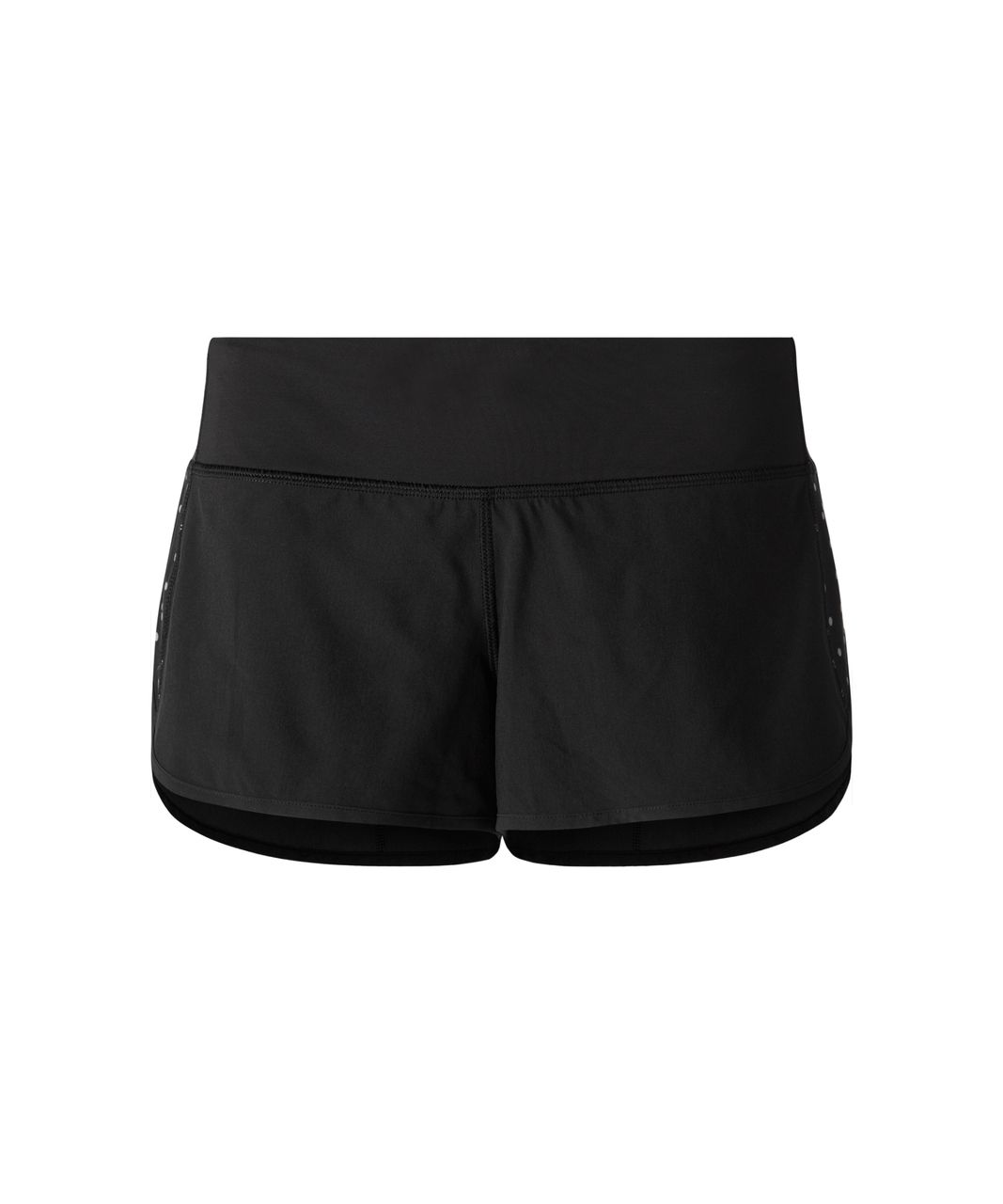 Lululemon Speed Short - Black (Reflective Dots)