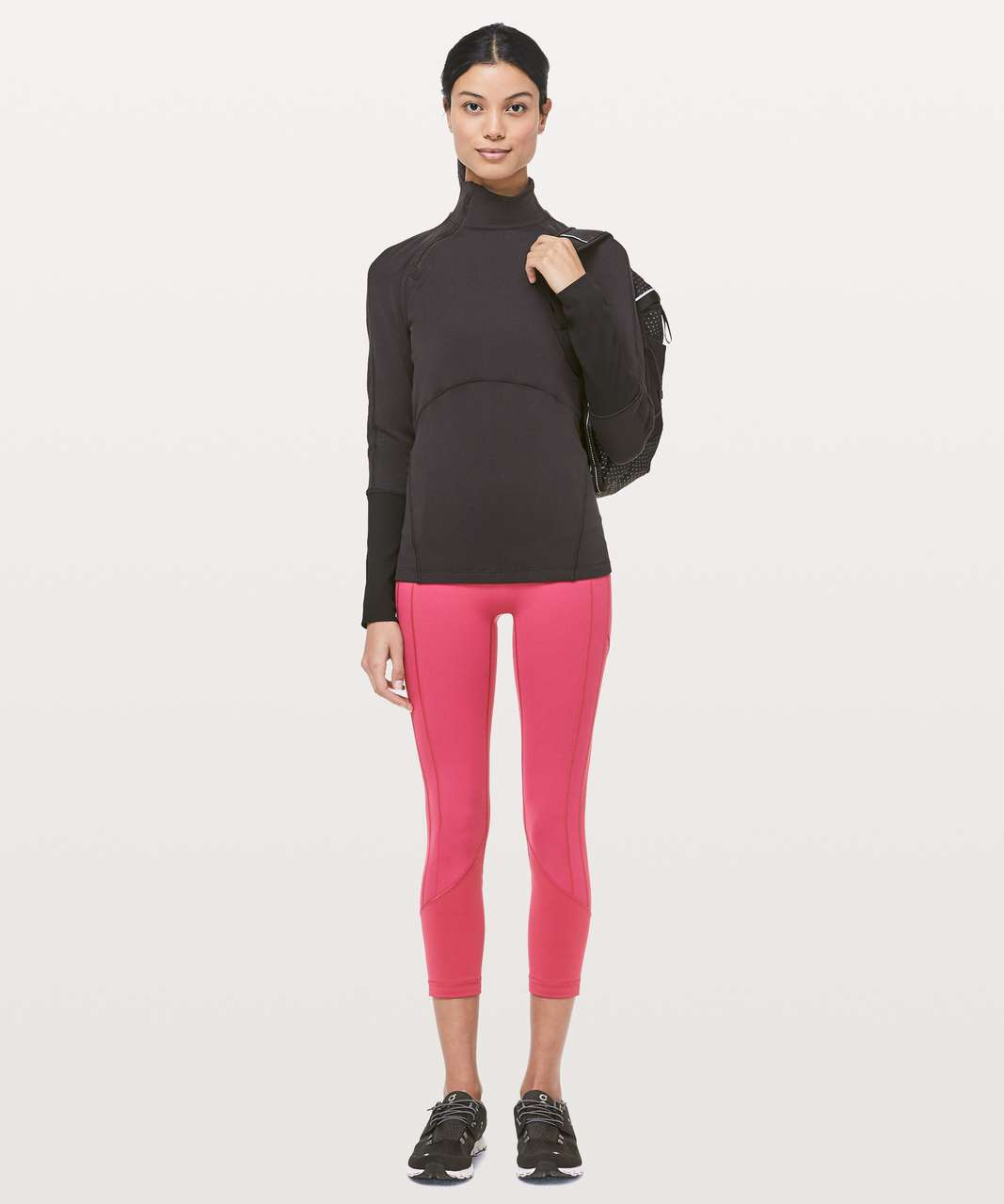 """Lululemon All The Right Places Crop II *23"""" - Violet Red"""