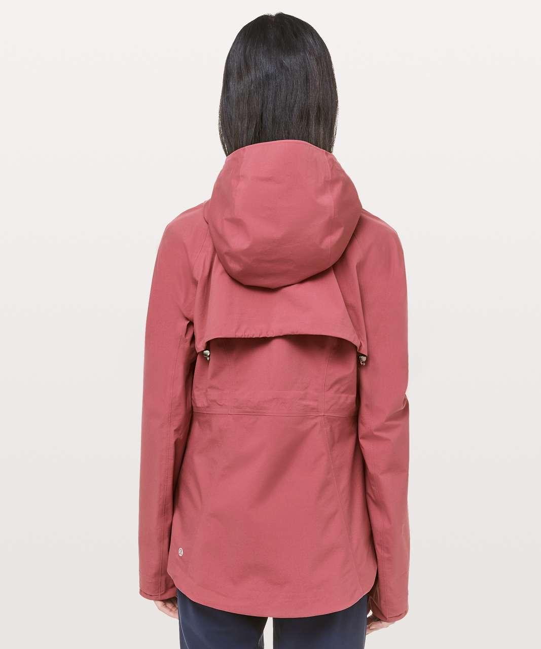 Lululemon The Rain Is Calling Jacket II - Misty Merlot