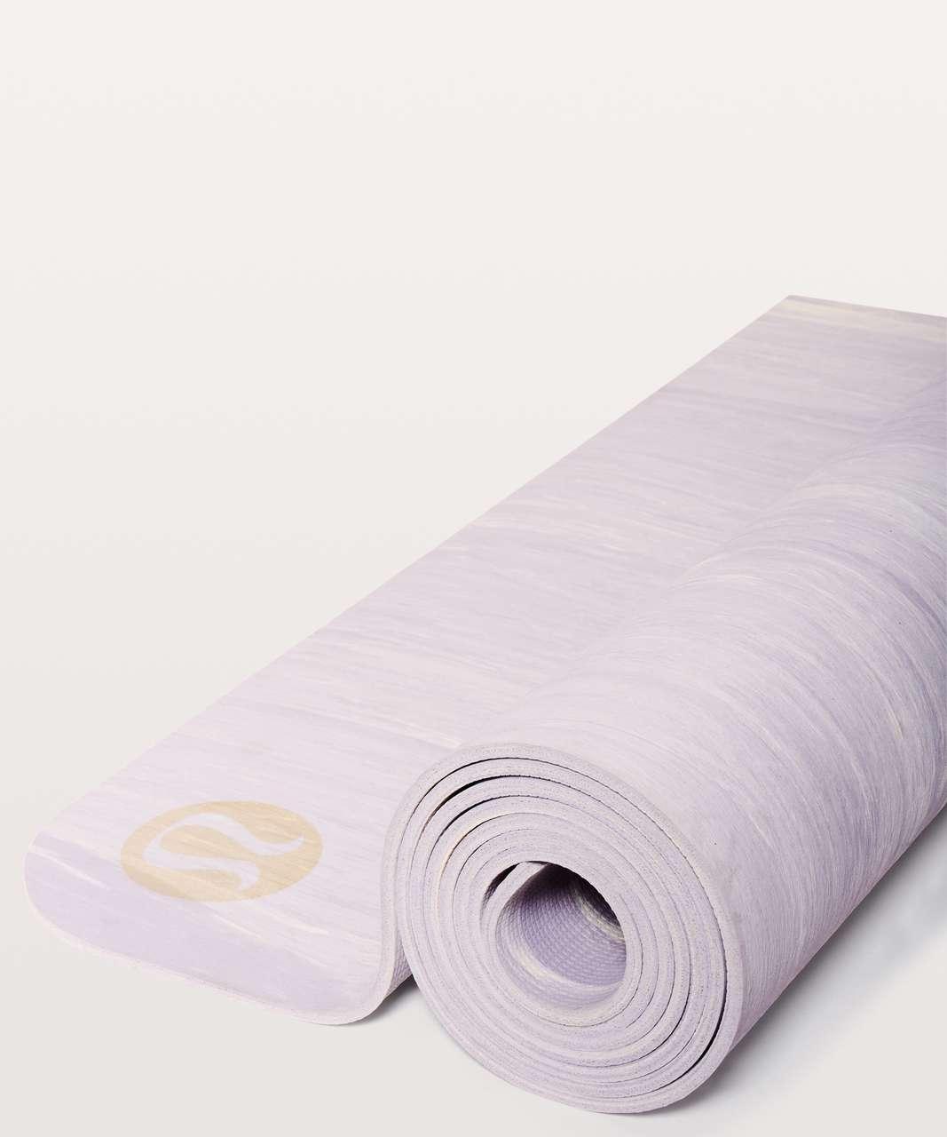 Lululemon Namastay Mat - Silver Lilac / White
